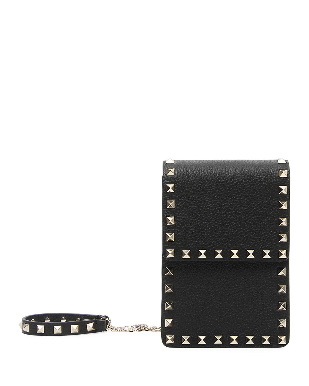 1eb4a34cdb5 Valentino Garavani Rockstud Pouch Crossbody Bag