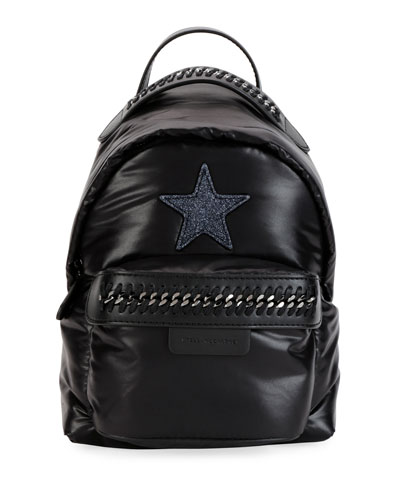 Falabella Mini Go Star Nylon Backpack