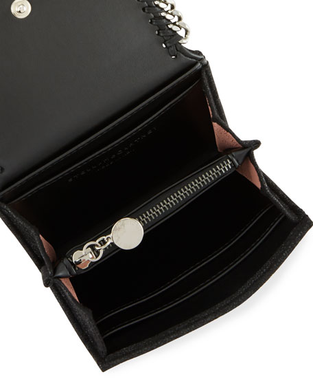 Falabella Small Shaggy Deer Wallet on a Chain