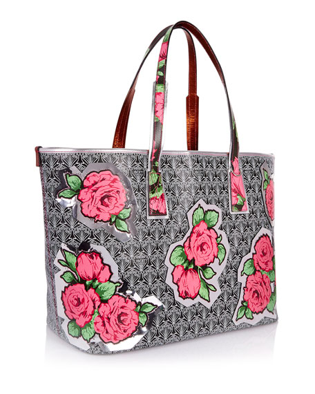 RQ Iphis Marlborough Rose Tote Bag