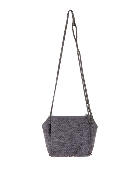 Festival Mini Crossbody Bag, Luxe Charcoal Marl