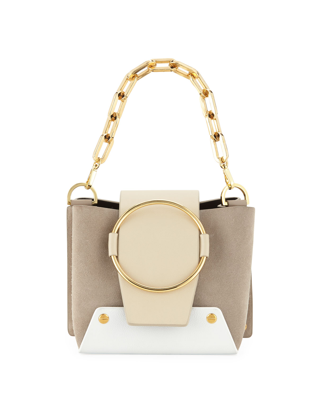 eb8e66cc46 Yuzefi Mini Delila Colorblock Crossbody Bag