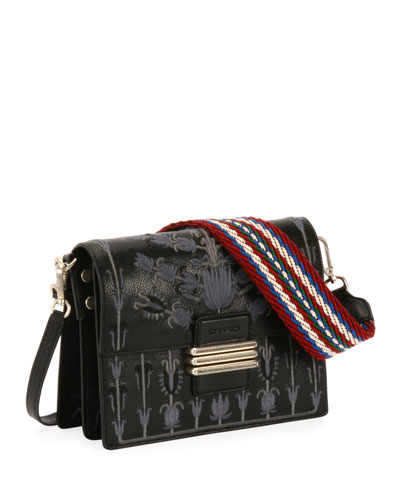 B Tracolla Rainbow Soft Ricamo Bag