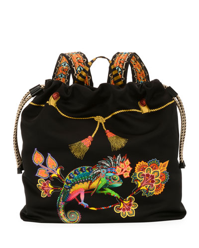 Zain Etro Stampa Harlem Backpack
