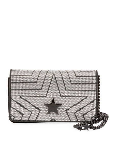 Stella Star Small Metallic Alter Napa Shoulder Bag