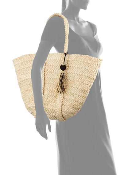 Carried Away Beach Basket Tote Bag