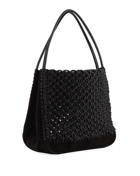 Large Macrame Tote Bag