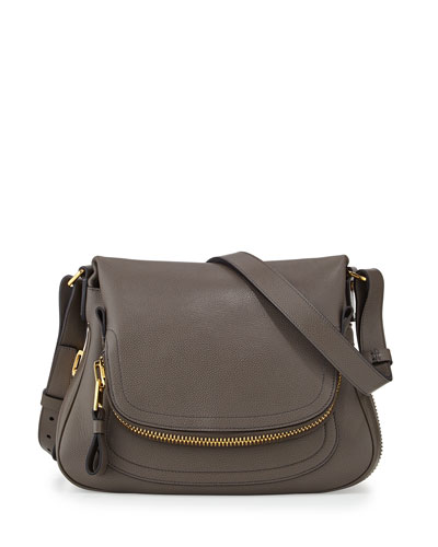 Jennifer Medium Pebbled Leather Shoulder Bag