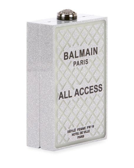 All Access Minaudiere Box Clutch Bag
