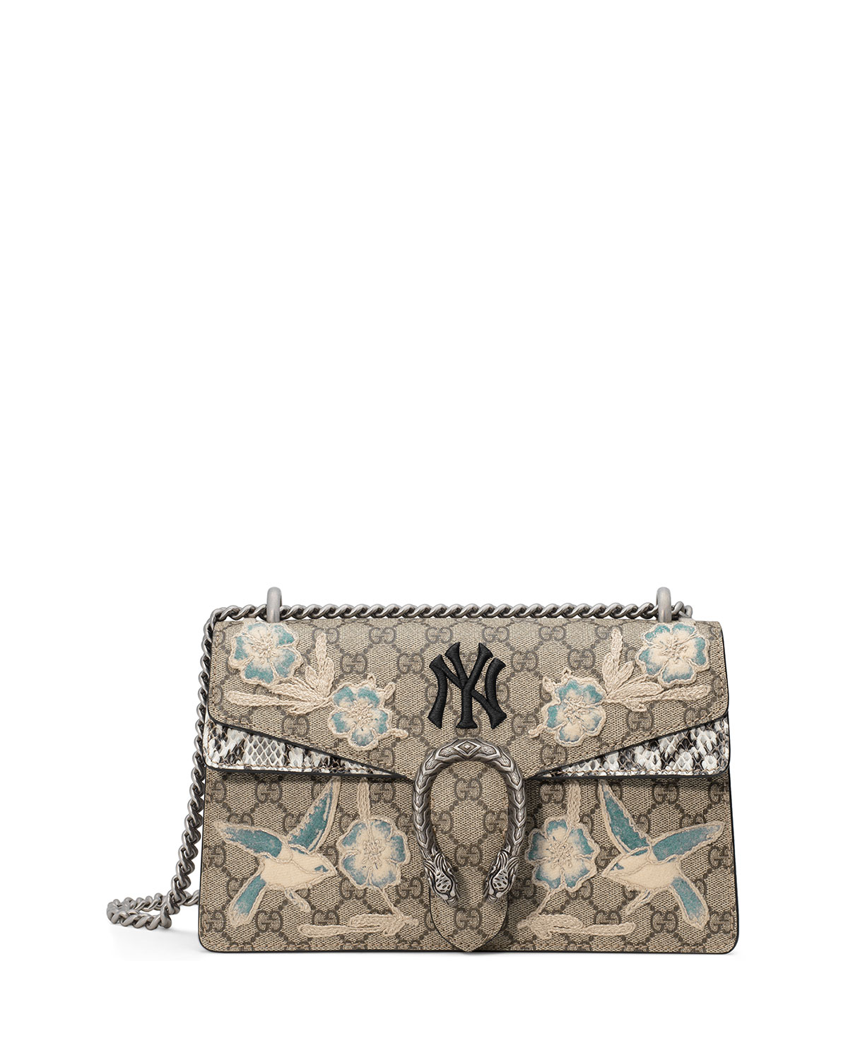 gucci dionysus medium gg new york yankees shoulder bag. Black Bedroom Furniture Sets. Home Design Ideas