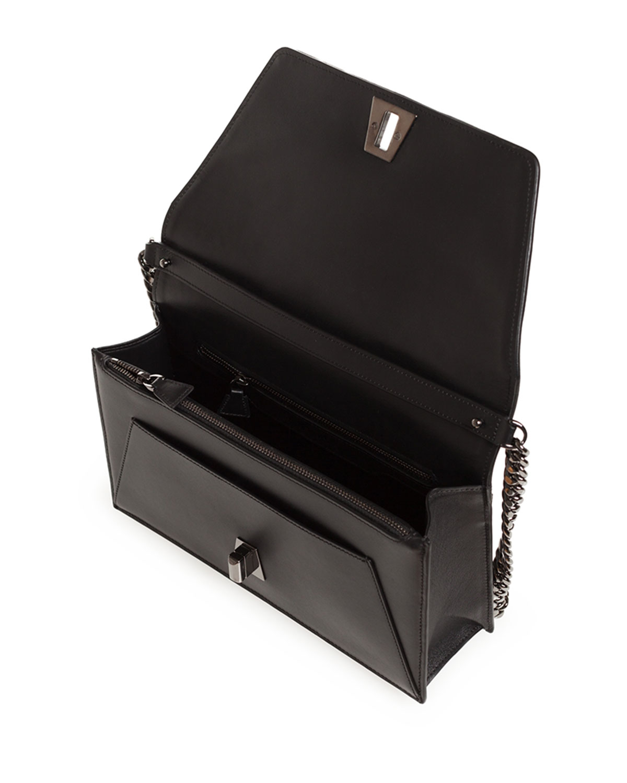 28b62353c2 Akris Anouk Small City Oversize-Herringbone Chain Shoulder Bag | Neiman  Marcus