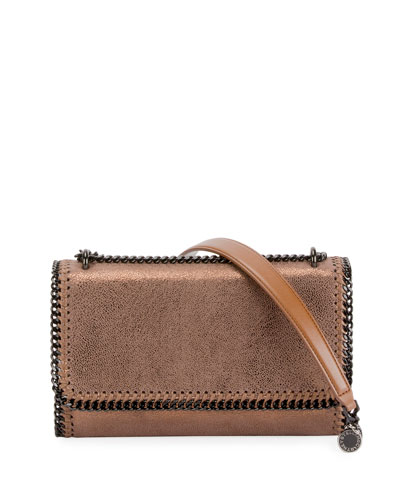 Falabella Shiny Chamois Chain Shoulder Bag