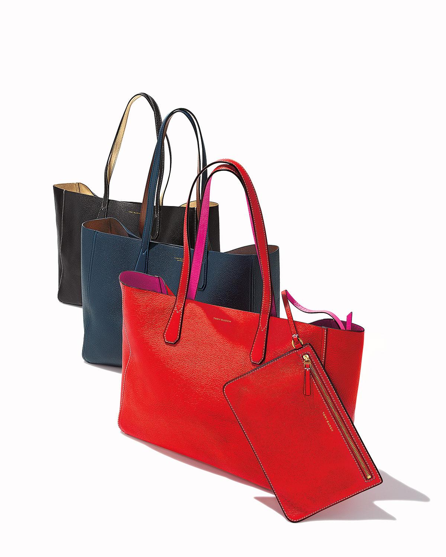 606b40edf3 Tory Burch Phoebe Reversible Metallic Tote Bag   Neiman Marcus