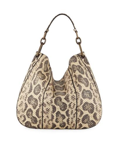 Anaconda Loop Medium Hobo Bag