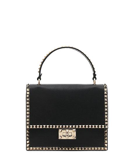 Valentino Garavani Rockstud No Limit Top Handle Bag