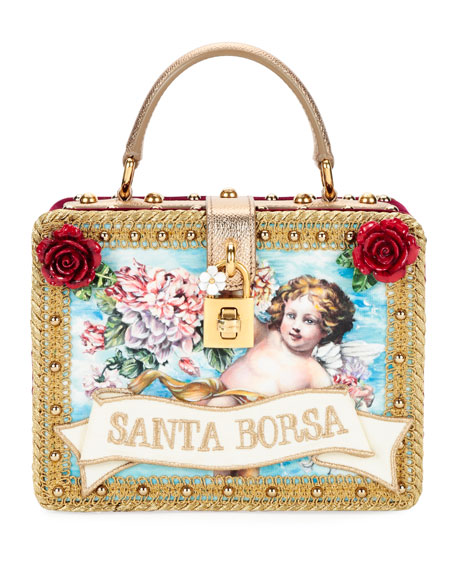 Dolce Small Santa Borsa Box Bag