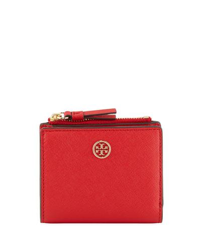 Robinson Mini Saffiano Leather Wallet