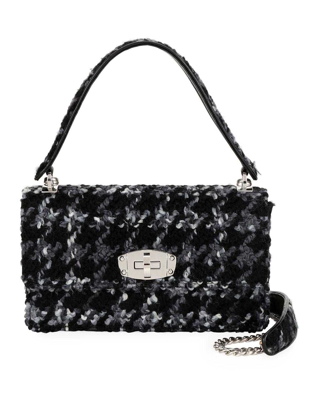 b2cebc60cb4 Miu Miu Cleo Boucle Top-Handle Shoulder Bag   Neiman Marcus