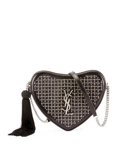 Sac Coeur Small Heart Crossbody Bag
