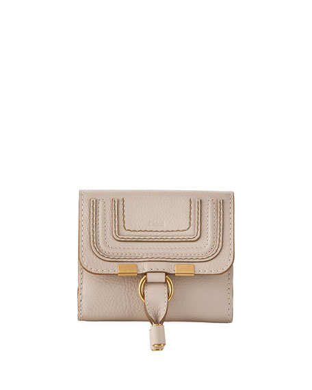 Chloe Marcie Leather Bi-Fold Wallet