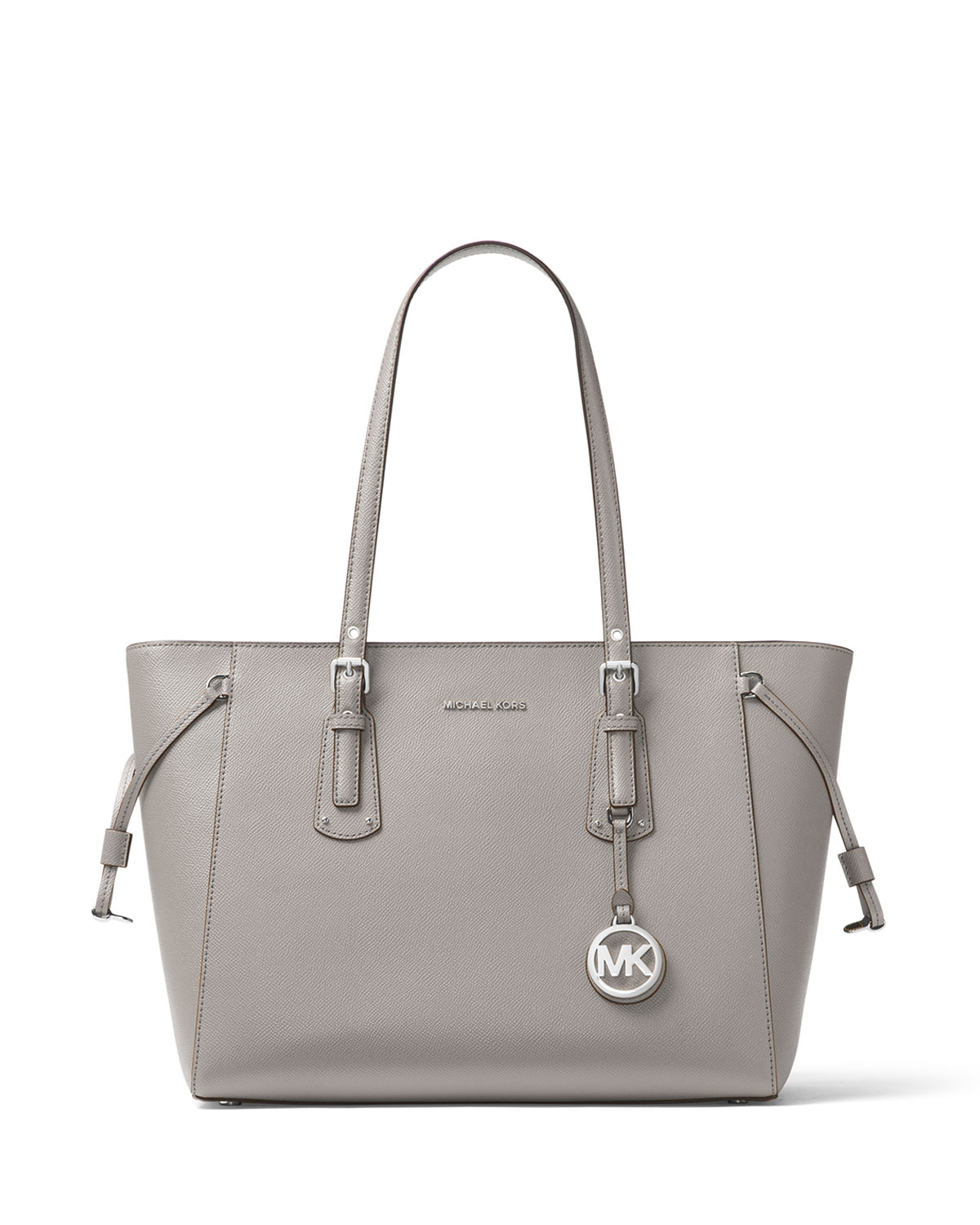 Voyager Medium Leather Shoulder Tote Bag