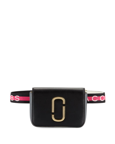 Hip-Shot Leather Belt Bag