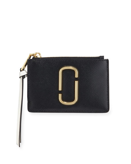 Snapshot Small Leather Wallet - Black, Black Multi