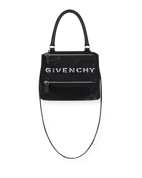 Givenchy Pandora Small Crossbody Bag in Speckled Nylon