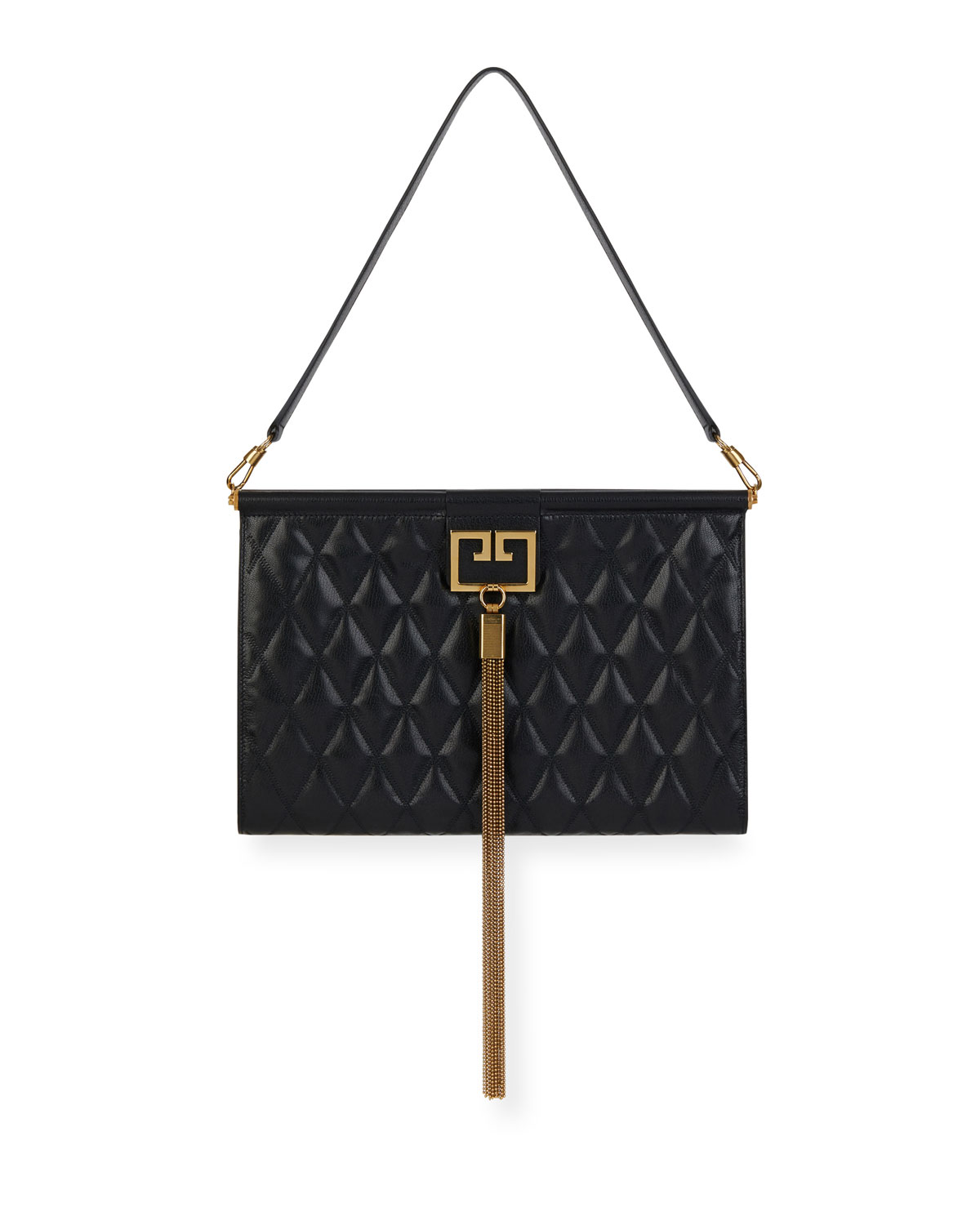 Givenchy Gem Large Quilted Leather Shoulder Bag   Neiman Marcus 842f057e7b