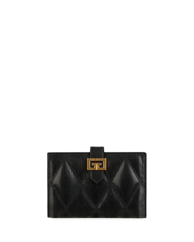 GV3 Medium Quilted Leather Wallet