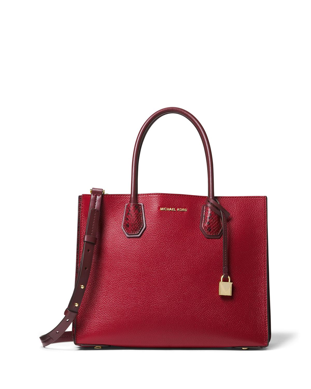 07a2de261163 MICHAEL Michael Kors Mercer Large Convertible Tote Bag