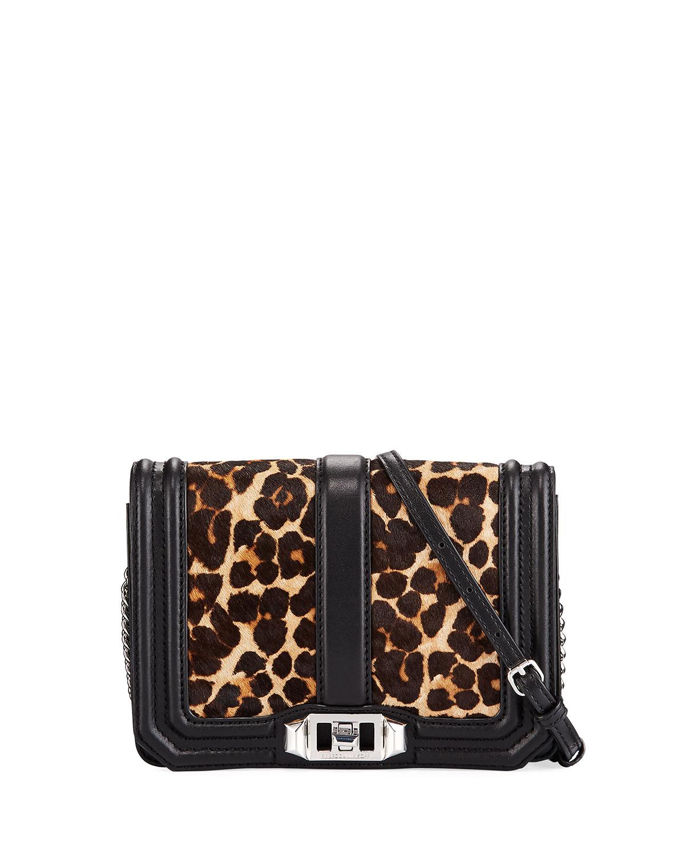 8cf4a371594e Rebecca Minkoff Love Small Leopard-Print Crossbody Bag