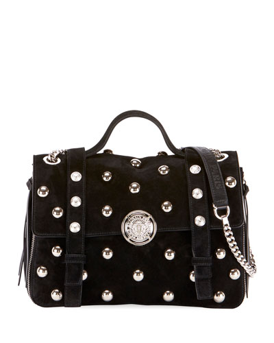 Baby Soft Pearly Flap Shoulder Bag