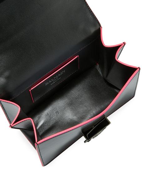 Baby Box 20 Outline Calf Shoulder Bag
