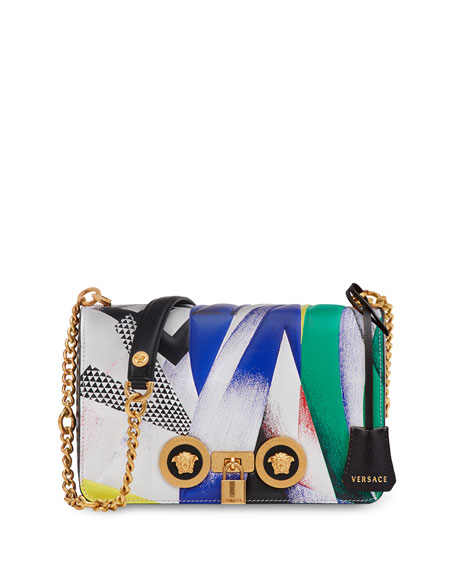 Icon Medium Clash-Print Crossbody Bag
