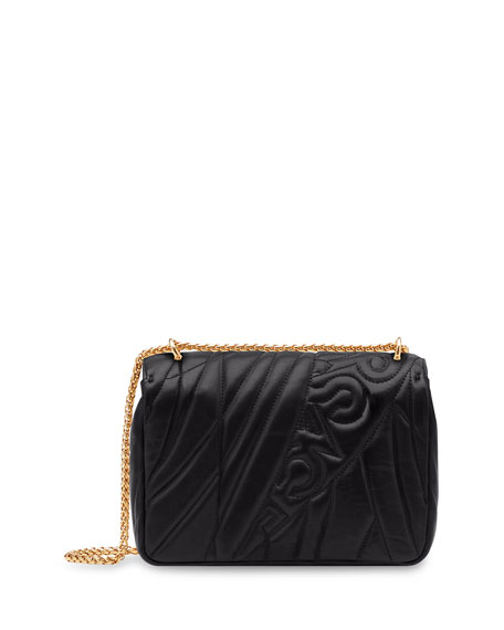 Icon Medium Logo-Quilted Napa Shoulder Bag
