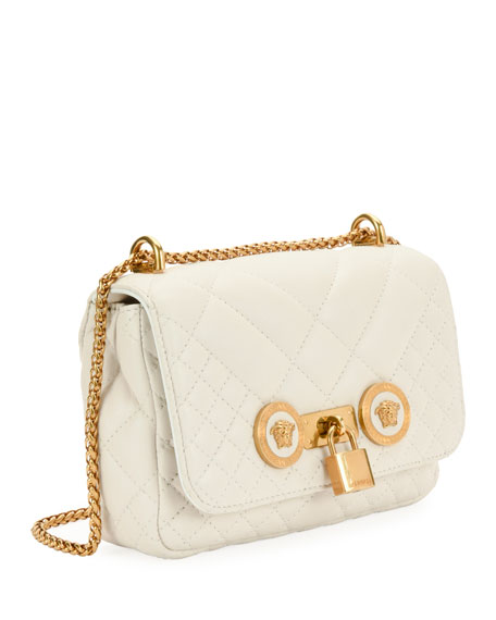 Icon Small Quilted Napa Crossbody Bag