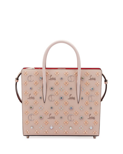 Louboutin Paloma Medium Mixed Stud Tote Bag
