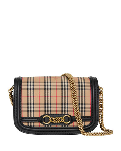1983 Check Link Shoulder Bag
