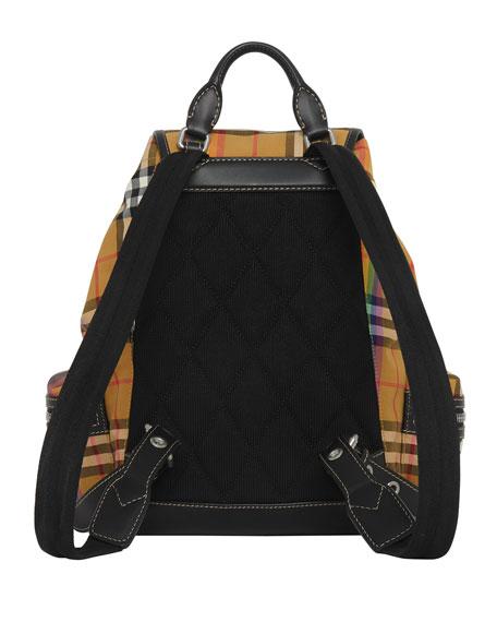 Medium Rucksack Vintage Check Rainbow Backpack