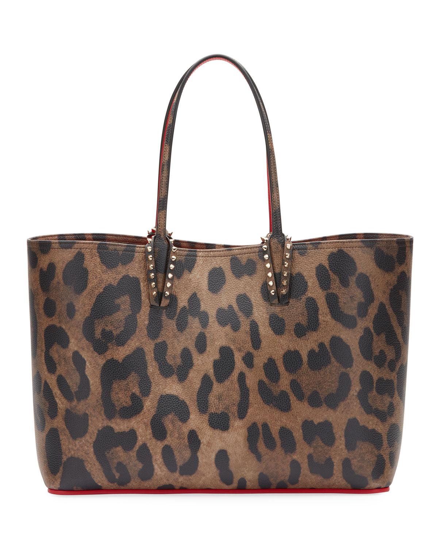 290823760b5a Christian Louboutin Cabata Empire Leopard-Print Leather Tote Bag ...