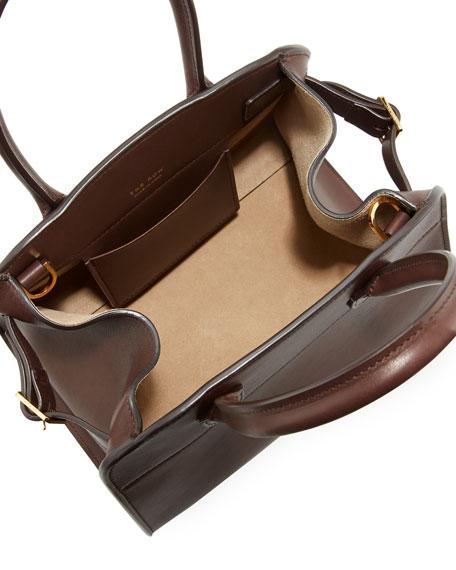 Margaux 10 Smooth Calfskin Top Handle Bag