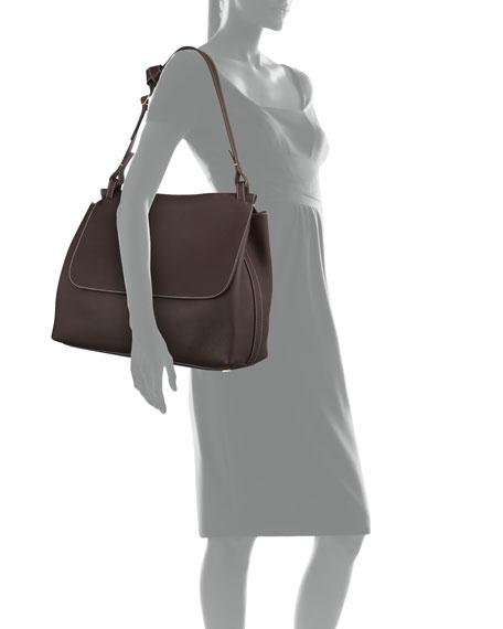 Equestrian 14 Top-Handle Satchel Bag