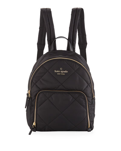 watson lane quilted hartley nylon backpack
