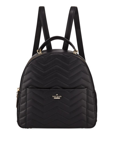 reese park ethel quilted leather backpack