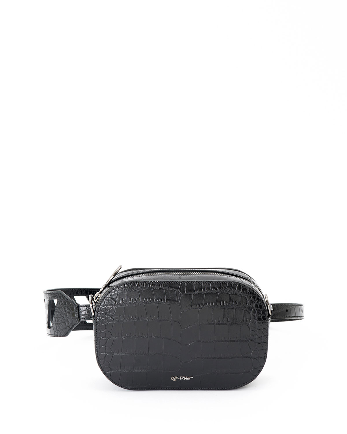 c3756c1bdf Off-White Cocco Stamped Leather Camera Bag