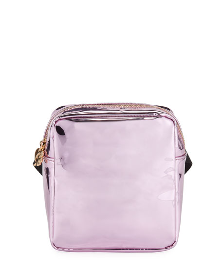 Metallic Belt Bag, Pink