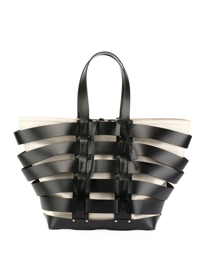 Cage North-South Tote Bag