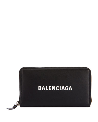 Black Everyday Continental Wallet Balenciaga RTKVdX4lnI