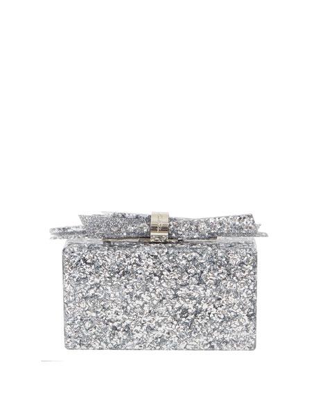 Wolf Shard Marbled Resin Clutch Bag